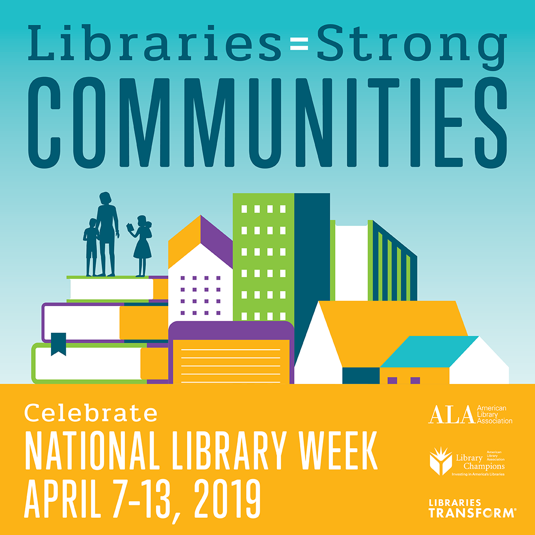 National Library Week 2019 Poster