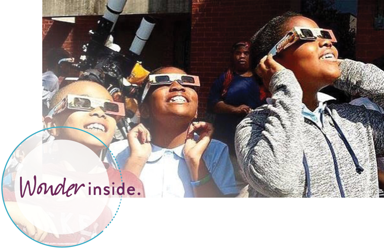 Wonder Inside Homepage Eclipse Viewing