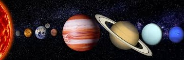 colored image of planets