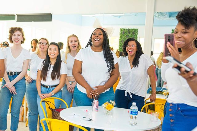 Atlanta, did we have a blast yesterday or what? 💛🎉💛@smarchephoto captured these beautiful shots so that we can never forget the magic that was our first #FacesofContentTour stop. Networking, connections, photos, sisterhood and LOTS of rose made for an unforgettable start to a warm hello to our southern #CliquishGang! Thank you to the many women who joined us yesterday to stand behind our mission of diversity, acceptance, transparency and substance. And here's to more content creators creating platforms with mission! If you joined us yesterday, drop a comment below and tell us what you loved most... ▫️ We're headed to New York, Los Angeles and Chicago next, and we can hardly wait to meet and celebrate with each of you! We invite you to submit your application to be a face – simply click the link in our bio to apply NOW! ▫️ New York, you're up next! Are you ready? ▫️ #CliquishIsGood || 📸 @smarchephoto