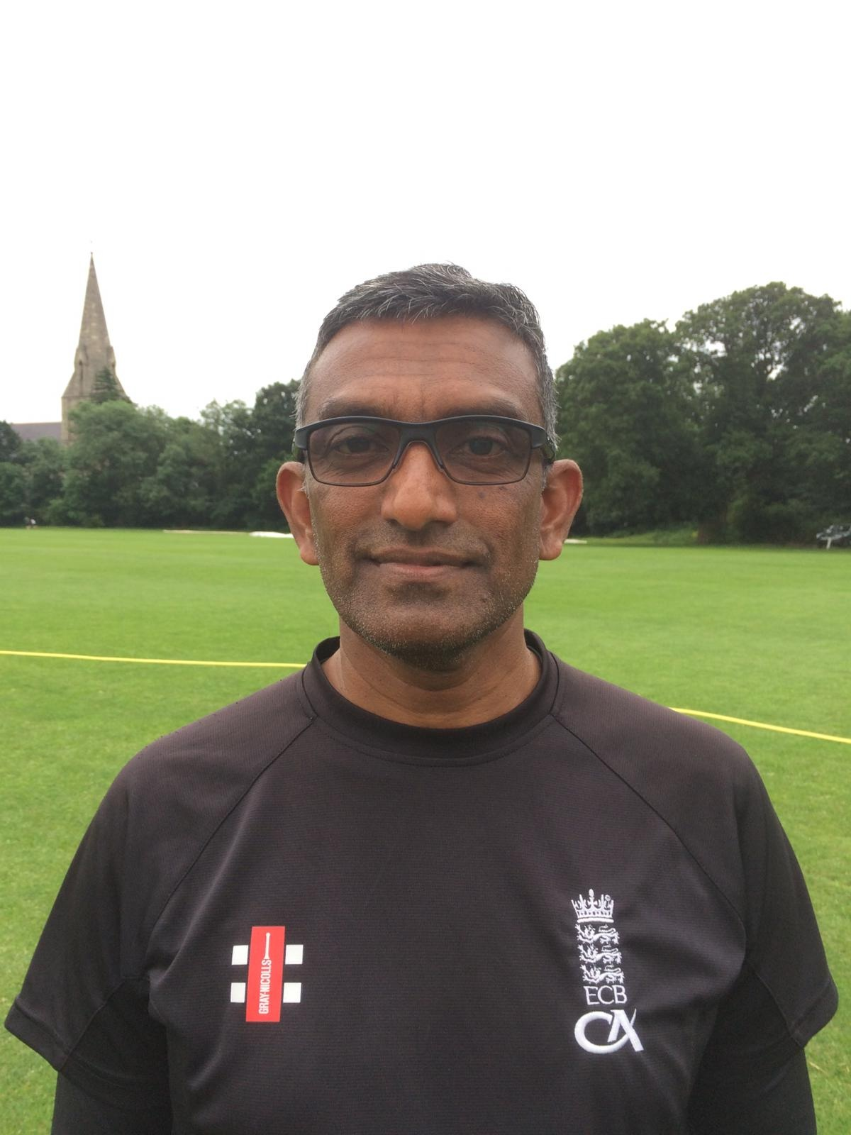 Ash Hosein - Ash is our main juniors coach so look out for him at the Walker ground on Monday evenings.
