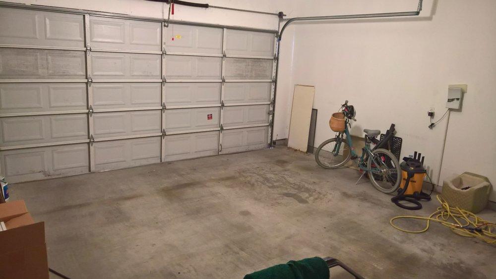 The garage of doom. September 2016. Houston, Texas.