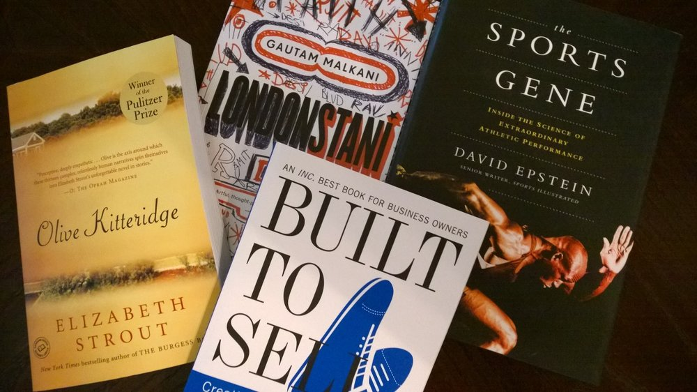 The best books I've read in 2014 at midyear. July 3, 2014.