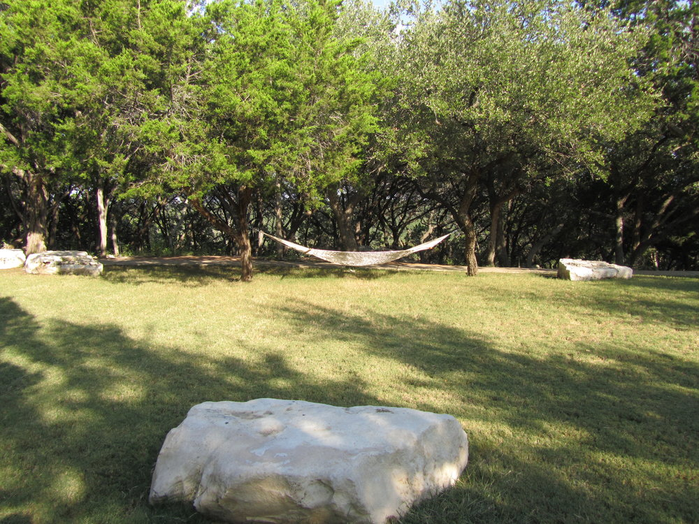 One of the hammocks on the Travaasa Austin property. September 2012.