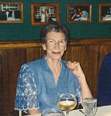 Gladys Farnsworth (nee Kennedy) c. 1992. Aged 82.