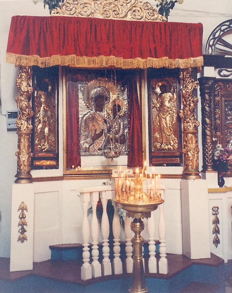 Picture I took in Russia in Summer 1992. Of Russian icons. (Proof, lady. Proof.)