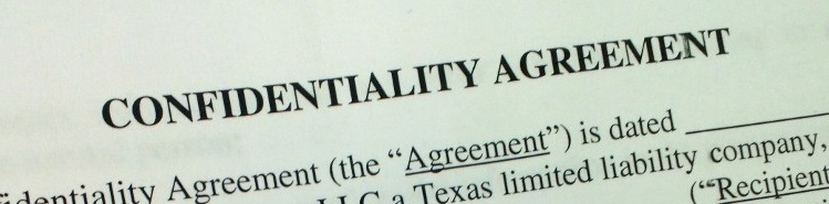 Confidentiality agreement for FrogDog. January 2013.