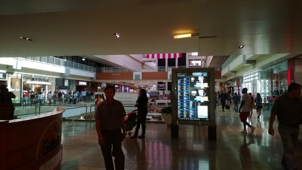 A view in The Galleria Mall in Houston, Texas. August 31, 2014.