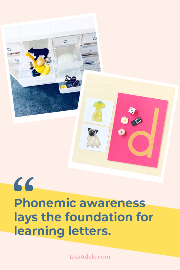 Learning Letters starts with Phonemic Awareness
