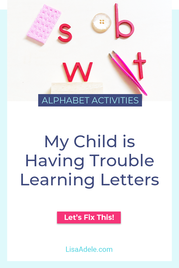 Trouble with Learning Letters