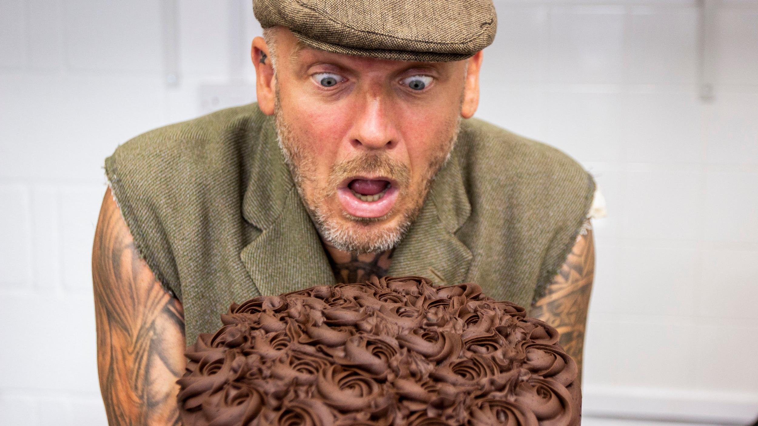 TV's Dirty Vegan at Wild & Wild, Congleton Cheshire (Matt Pritchard)