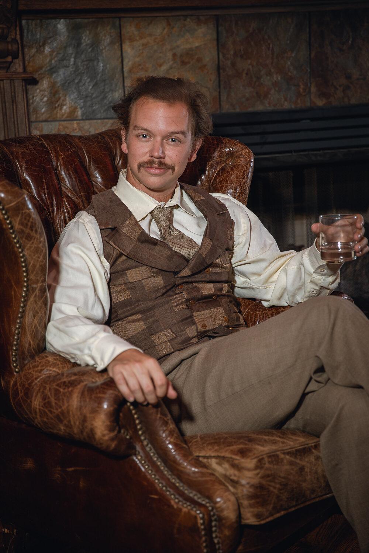 Thomas Hunt as Albert Einstein