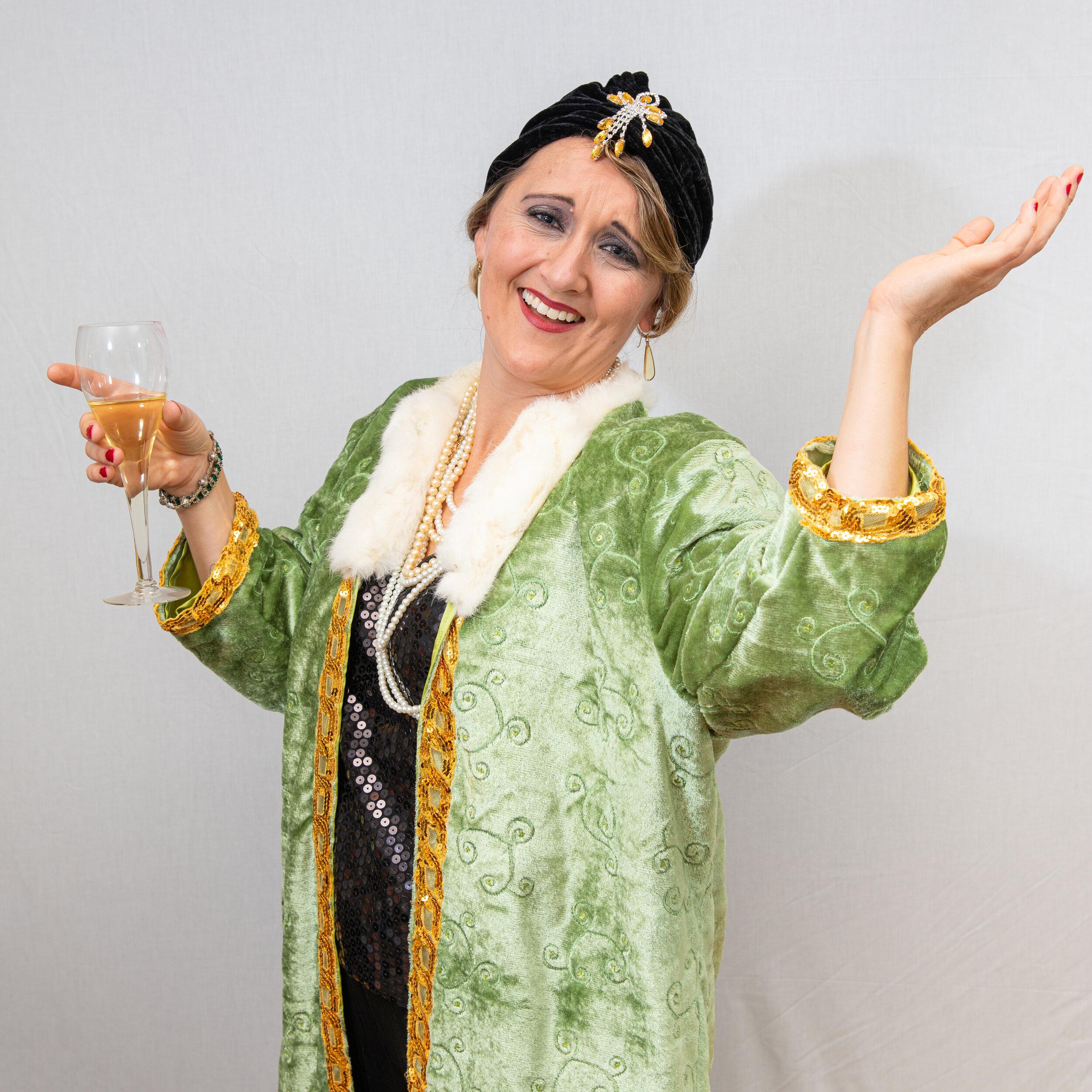 Tasha McCabe as The Drowsy Chaperone