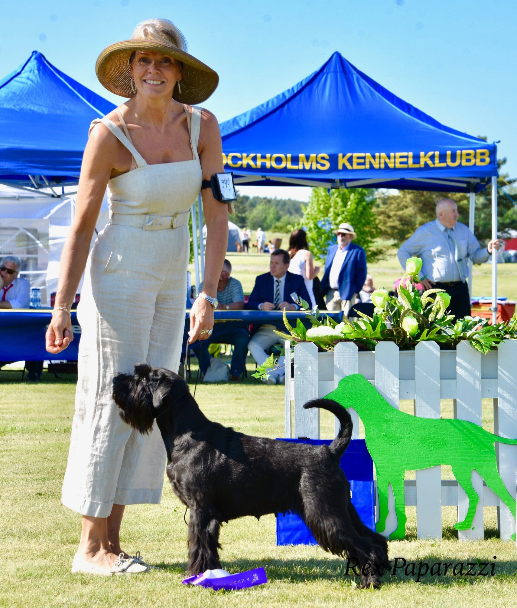 "Velvet Dandy´s Aura ""Laura"" BEST IN SHOW 4 VETERAN and BOS"