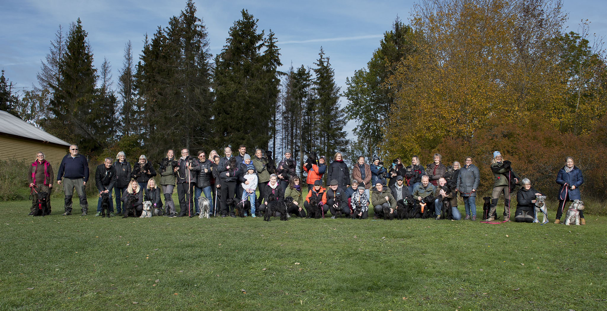 Our photographer mr. Stefan Borg succeeded in gathering all attendants at one photo!