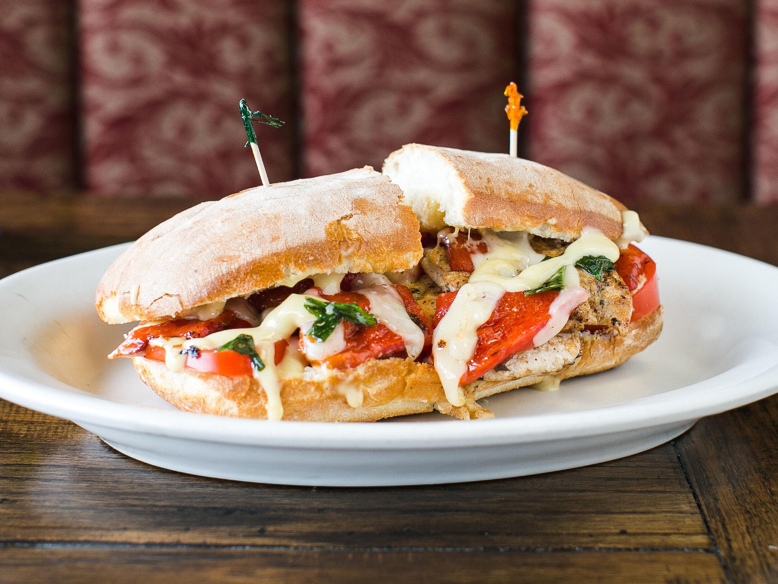 Rustic Italian Chicken Sandwich