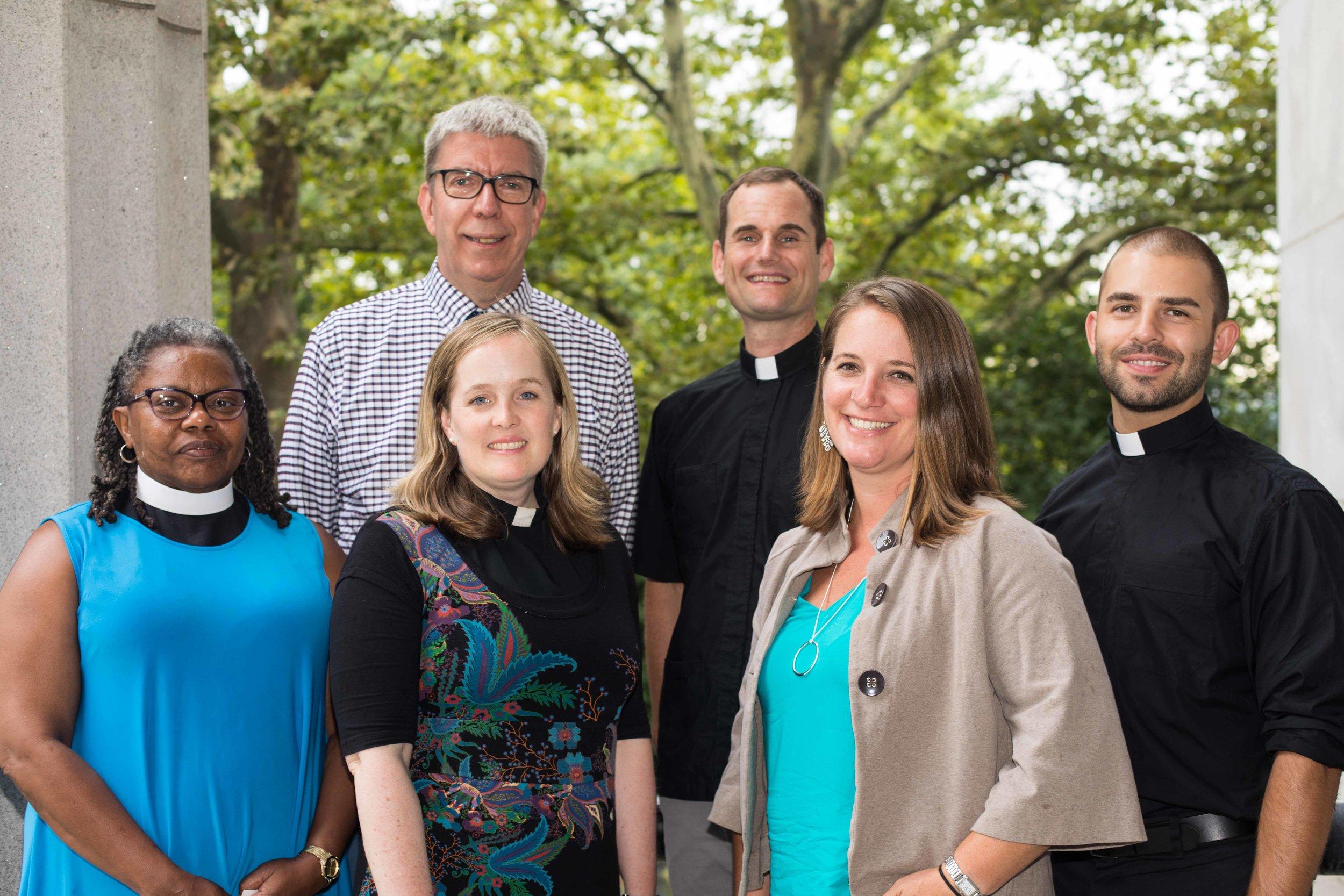 2017-2018 Episcopal Church Foundation fellows (photo credit: Episcopal Church Foundation)