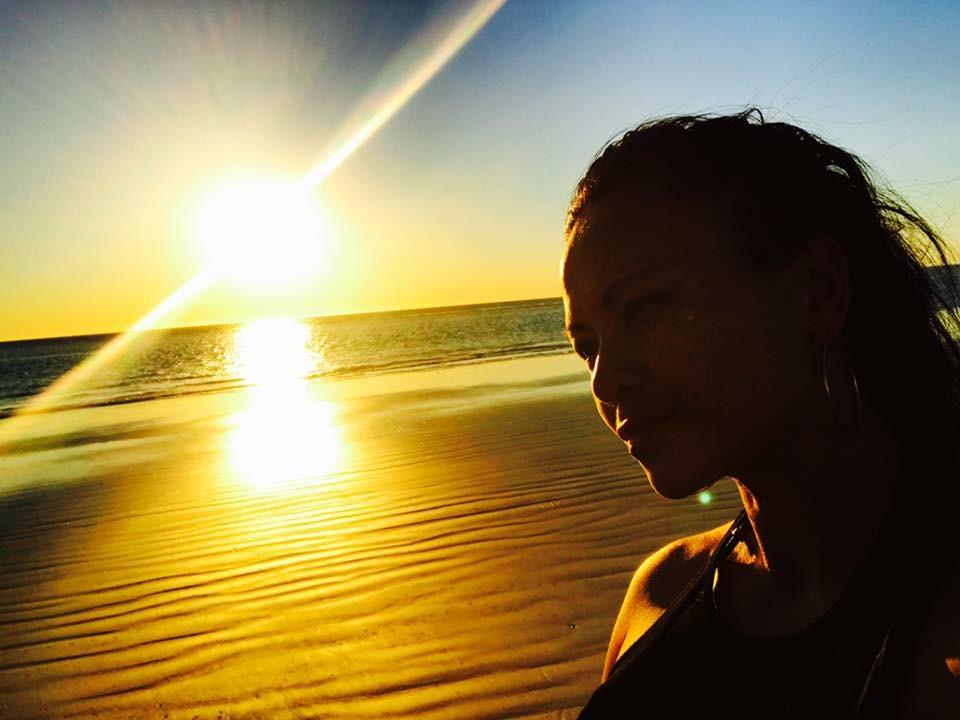 Pauline sunrise bright in sky.JPG