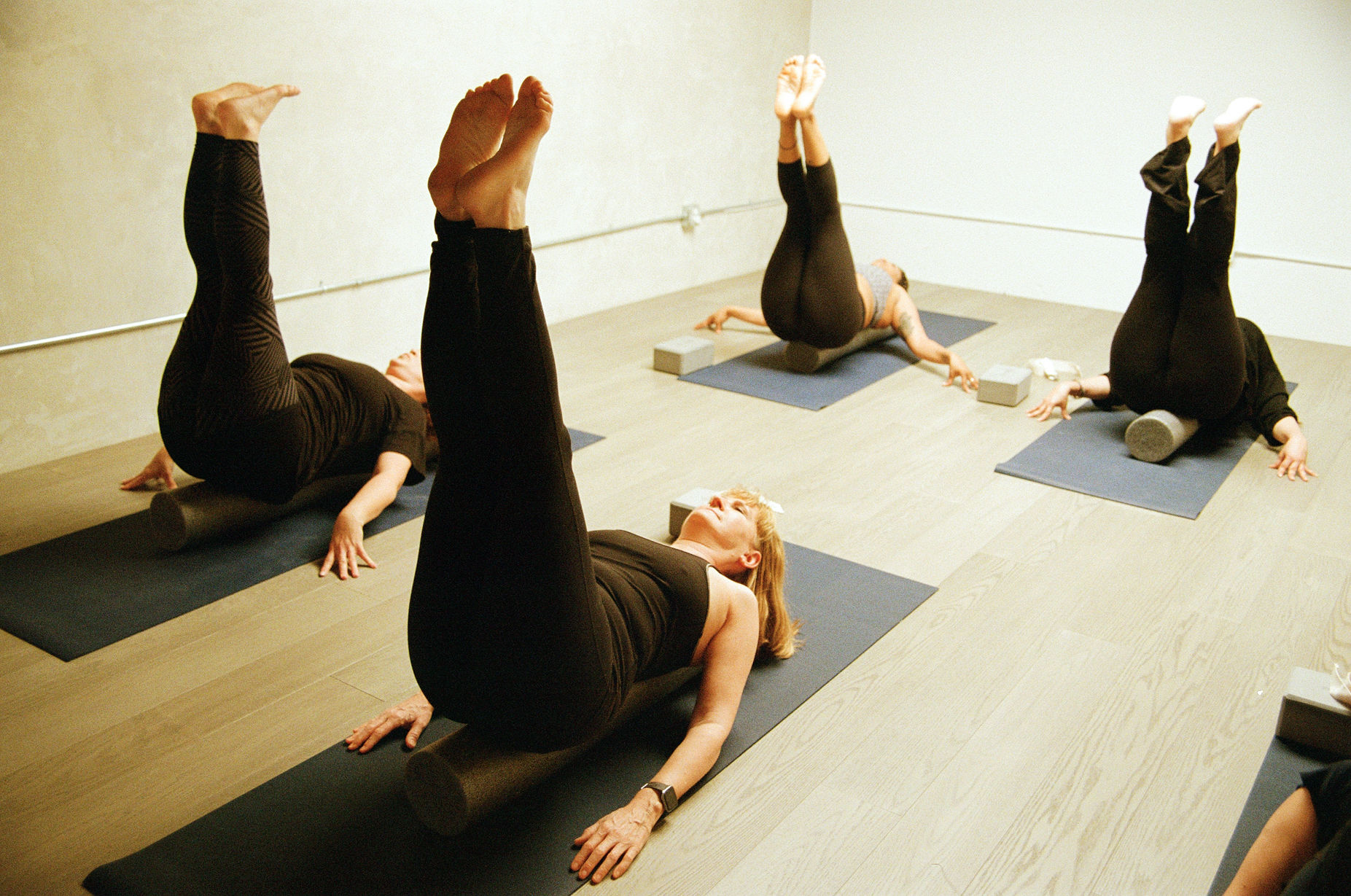 Core Adore - This class combines Pranayamas (breathing exercises,) Yoga and Pilates to revitalize and connect to the Diaphragm, Psoas, Abdominals and Pelvis. The practice offers a powerful physical and emotional energetic boost. This is an all levels practice, no previous Yoga or Pilates experience necessary.