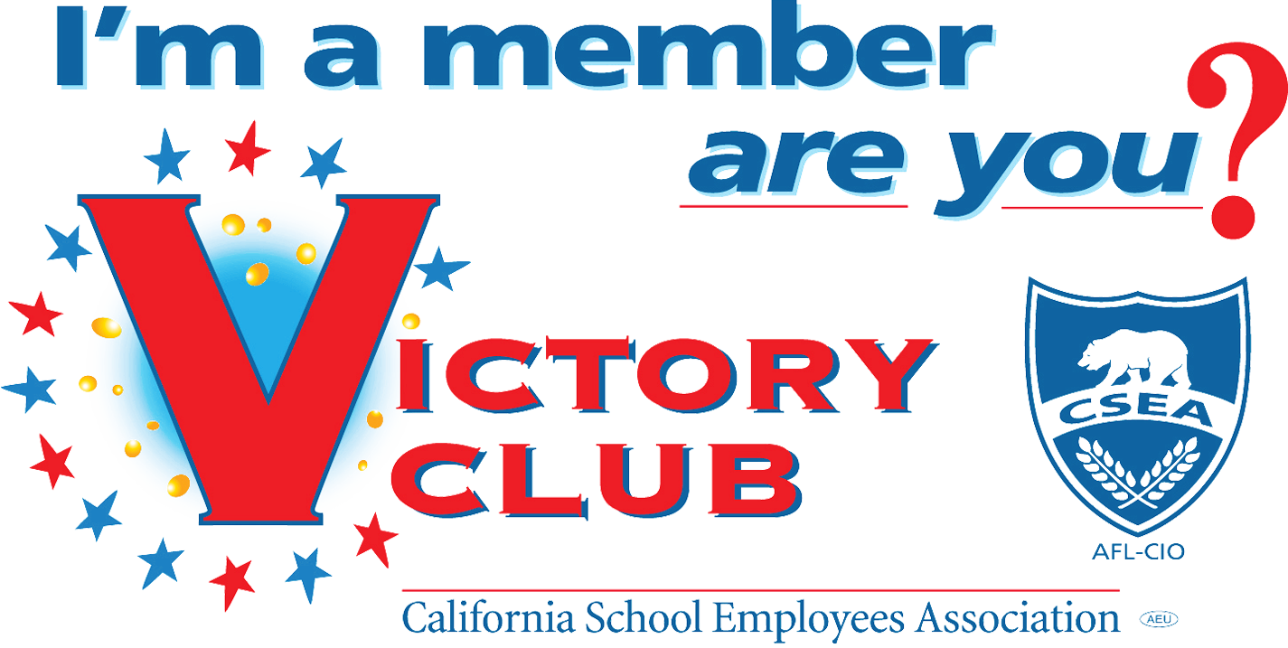 Take Action - Victory Club participation helps CSEA protect your rights, support pro-worker and pro-education candidates, and sponsor or co-sponsor important legislation.