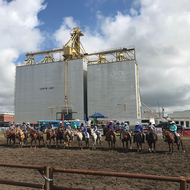 Wawota/Cartwright Rodeo #rosie #cartwrightmanitoba #elevator #horses #rodeofamily #wrangler #barrelracing #peeweebarrelracer #rosieropes #rosiethecowboy #rosieswag