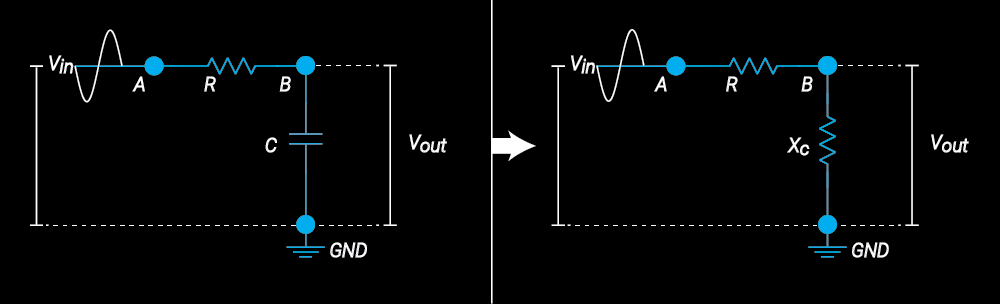 Passive lowpass filter