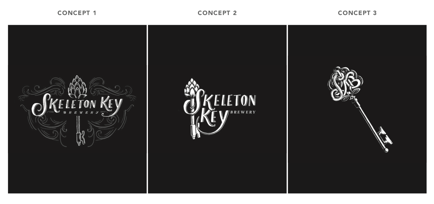 skeleton-key-brewery-merchandise-graphic-concept-sketches