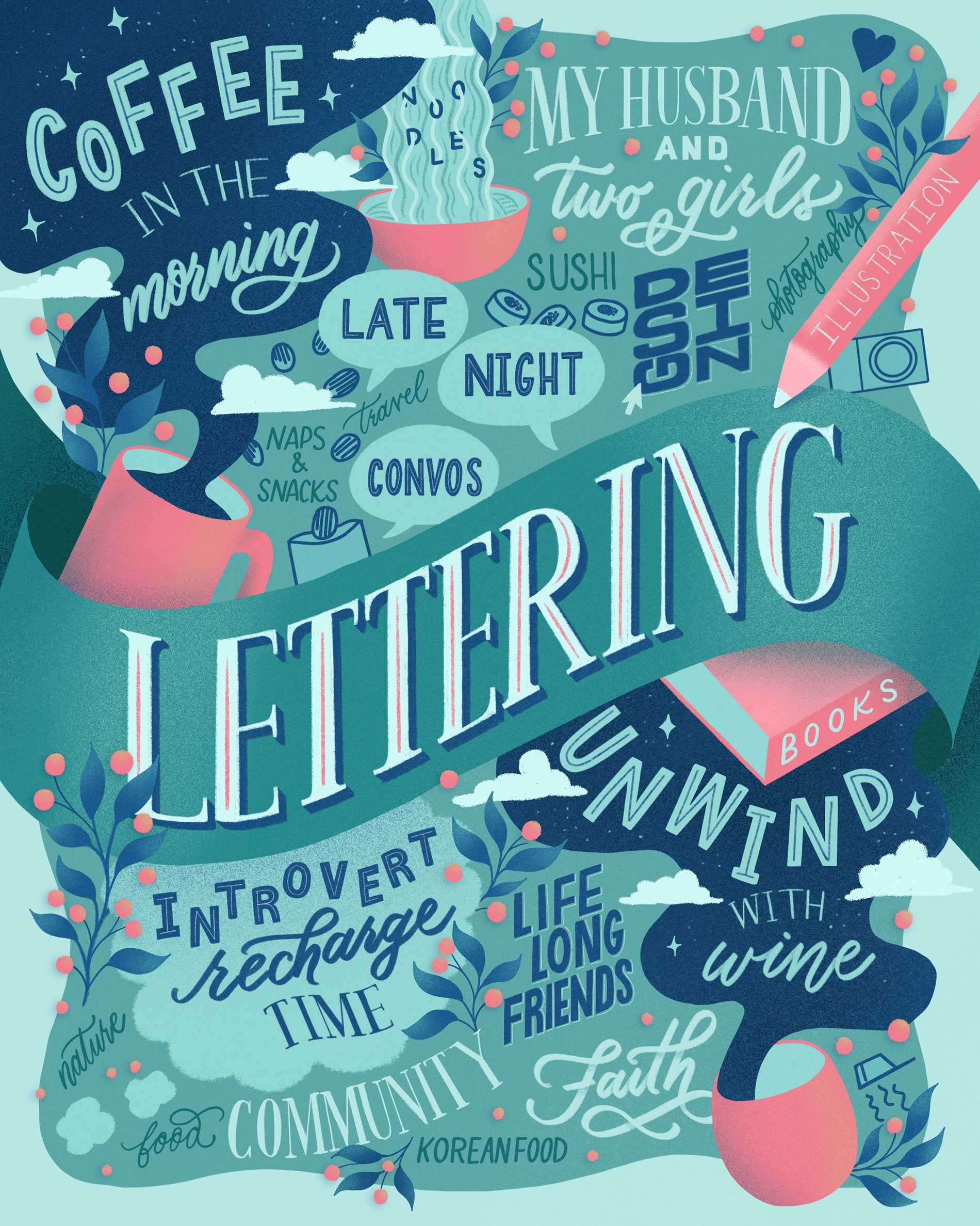 hand-lettered-favorite-things-lettering