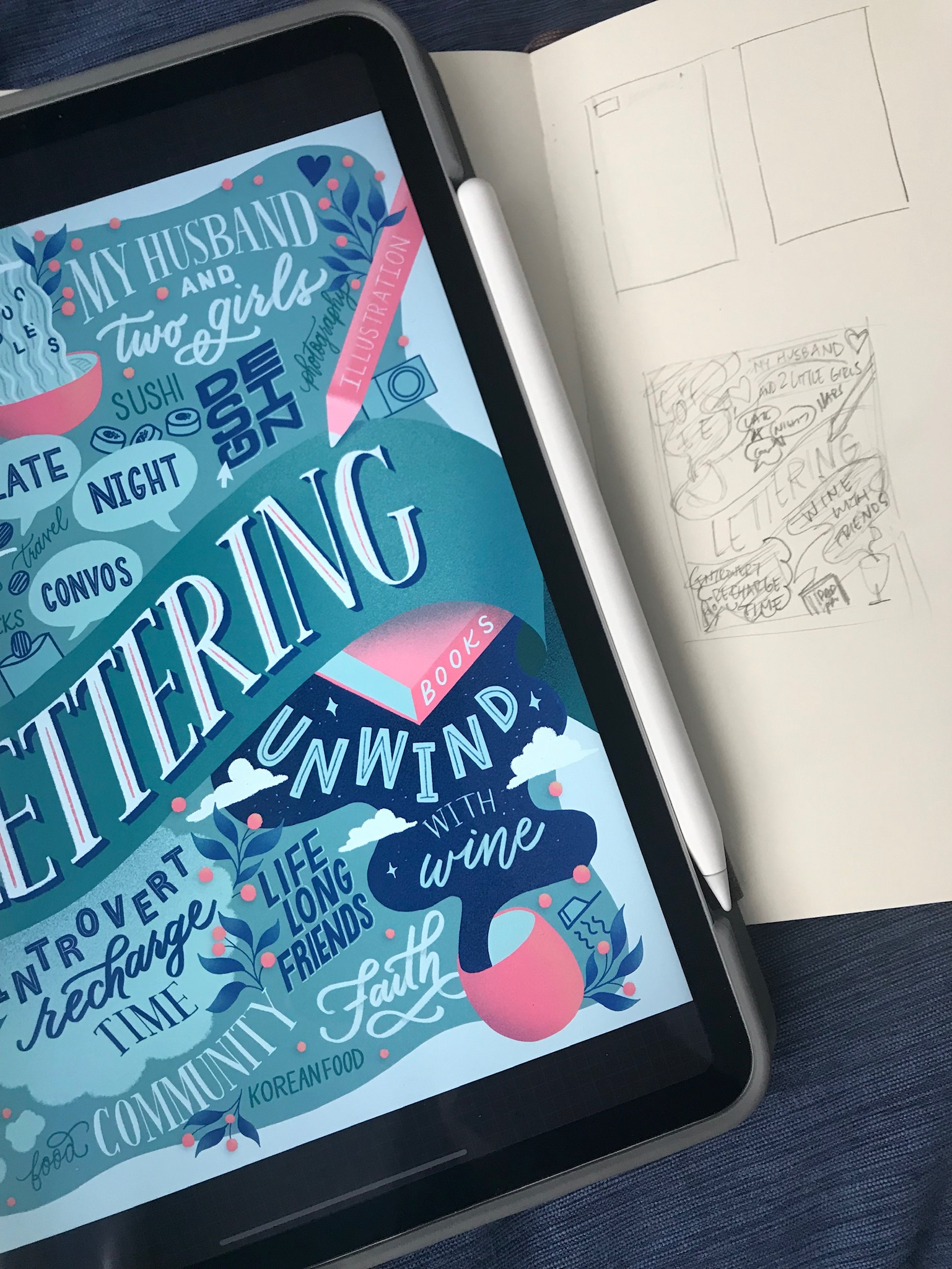 hand-lettered-favorite-things-lettering-thumbnail