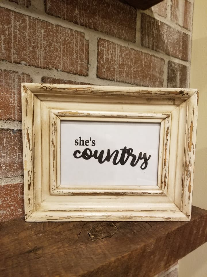 Framed Signs - We create an array of signs in old frames, on reclaimed wood and even on old windows. Don't see something you love or have something else in mind? Let us know, we can create it for you!