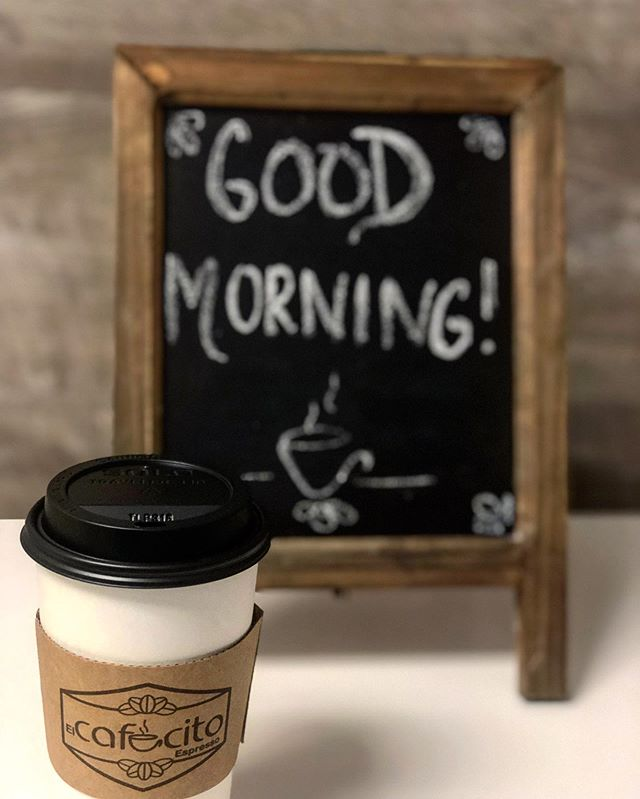 Good morning everyone! Best way to start your day is with a cup of coffee! Have a wonderful day☕️