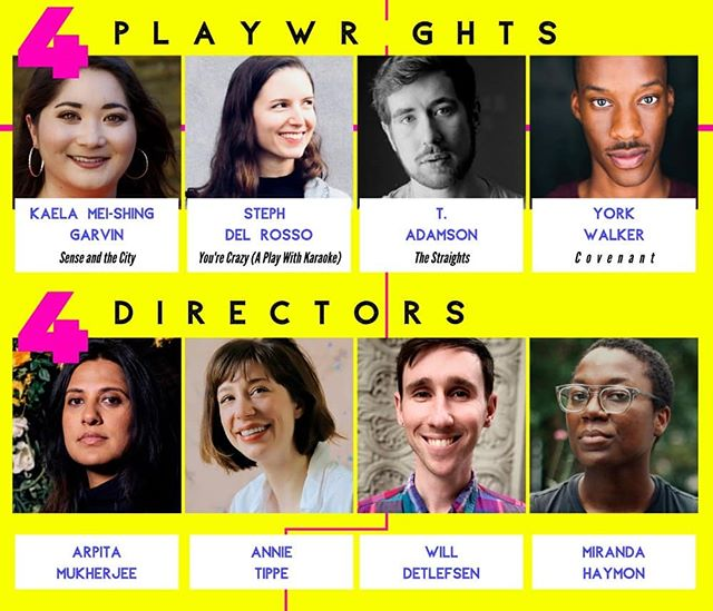 WE ARE SO EXCITED FOR TONIGHT! The first-ever 4 Flights Up Fest, Access Theater's readings of four new plays by bold and experimental playwrights and directors begins in just a few hours!  Tickets start at just $5, and they're still available for all four nights! Just check the link in our bio for everything you need!