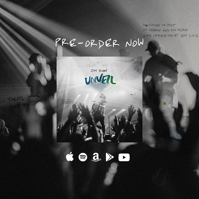 Pre-Order UNVEIL now and listen to 'What You Said'🙌  It's for the ones choosing faith OVER fear.  The ones ready to declare the greater truth!  Jesus is king.  His kingdom comes with Him.  That's what we enter into when we worship!  Let the hope begin!  Your story doesn't end here.  What He promised WILL BE!  Sing toward it!  You may even encounter some joy along the way! (Link in bio)
