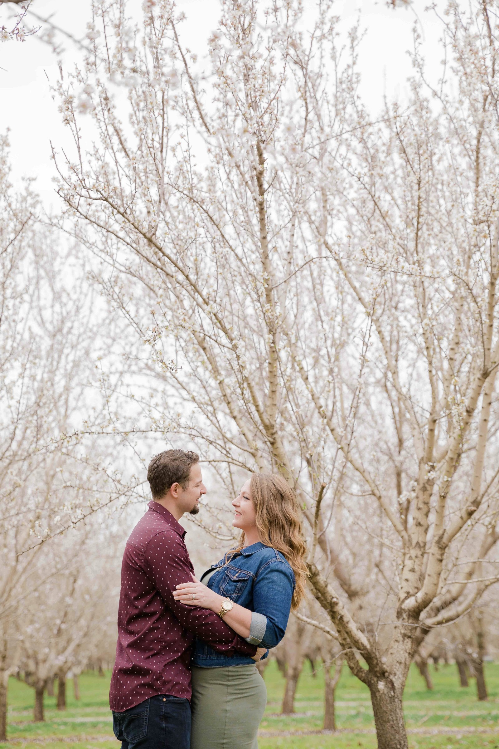Chico blooming orchards engagement photos22.jpg