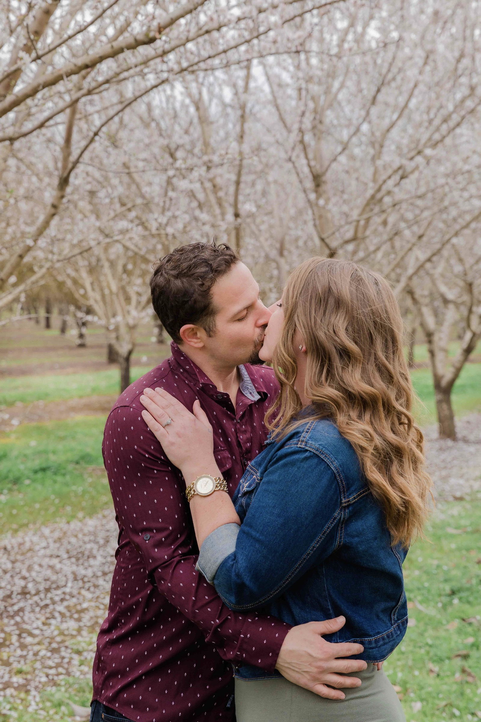 Chico blooming orchards engagement photos10.jpg
