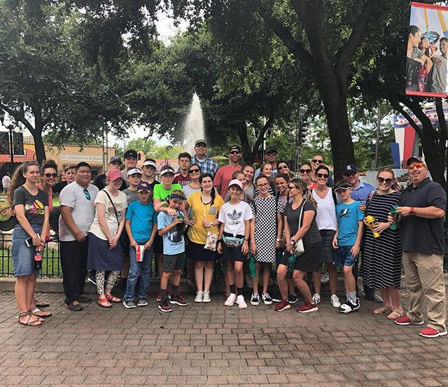 Hooray for mild Texas weather and cloudy skies! Had a blast at Six Flags! (No one threw up 🤮) Thanks to all the chaperones for capturing some great theme park moments! #weareinfinitelc