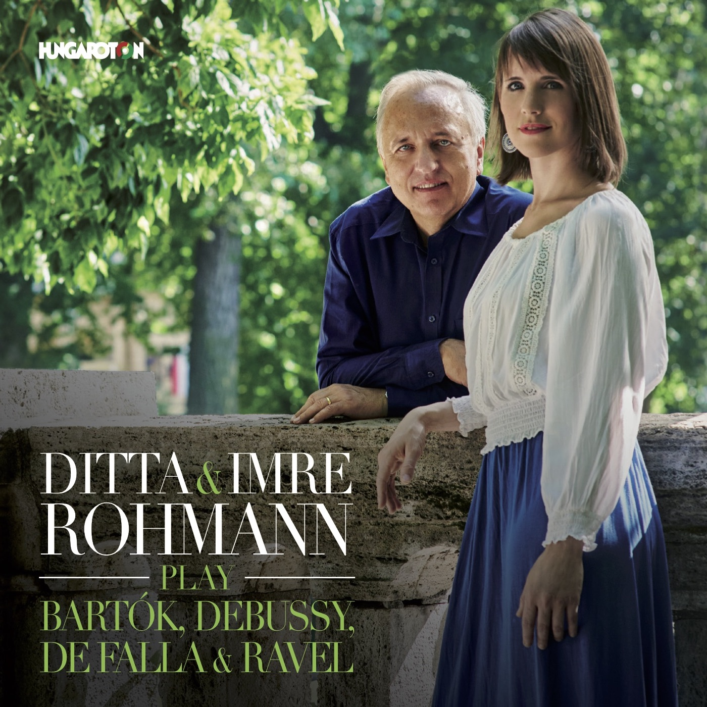 Ditta and Imre Rohmann's Hungaroton-Album has been Awarded the Classical Music Record of the Year - The