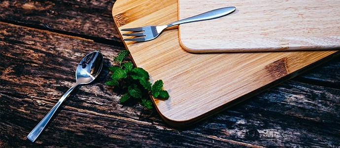 The fork is used for stabbing while the spoon is used for scooping, serving very different purposes.