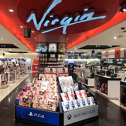 VIRGIN MEGASTORES  MARKETING & BRANDING WORLDWIDE
