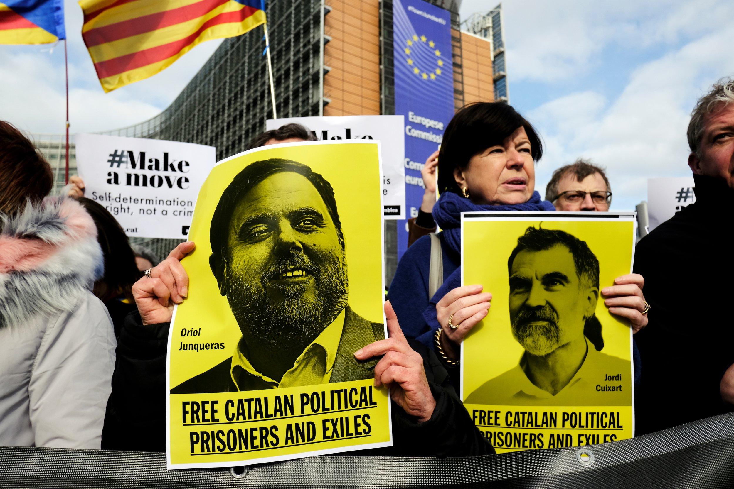 Protester - også i Brussel. Foto: Alexandros Michailidis / Shutterstock.com