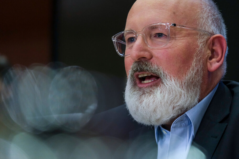 Frans Timmermans er første visepresident i Europakommisjonen og ansvarlig for den nye European Green Deal. Foto: Shutterstock