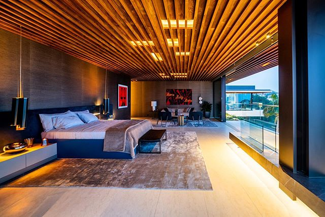 What a $43M Master bedroom looks like. #poweredbyPES
