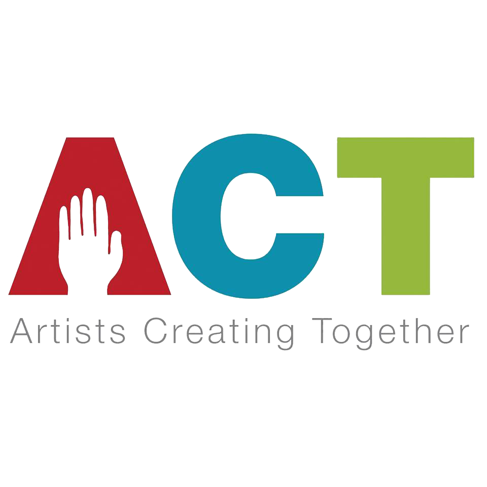 Artists Creating Together (ACT) - brings students with disabilities together with artists and art projects. The Action Drummers is an inclusive performance group of percussionists that performs at community events.