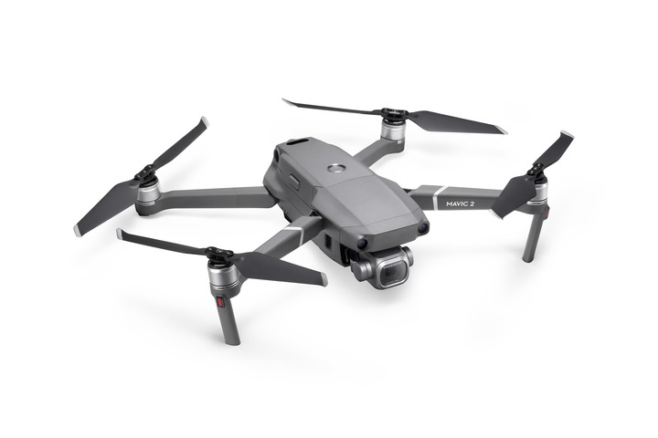 DJI Mavic 2 - A small and very portable drone, providing excellent value for money and very good image quality for its size. Ideal for smaller jobs and such as property stills.