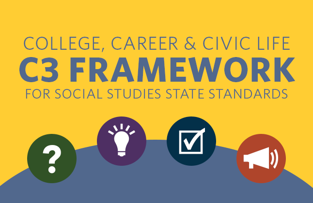 Consulted on the connections between the C3 Framework and ELA standards.
