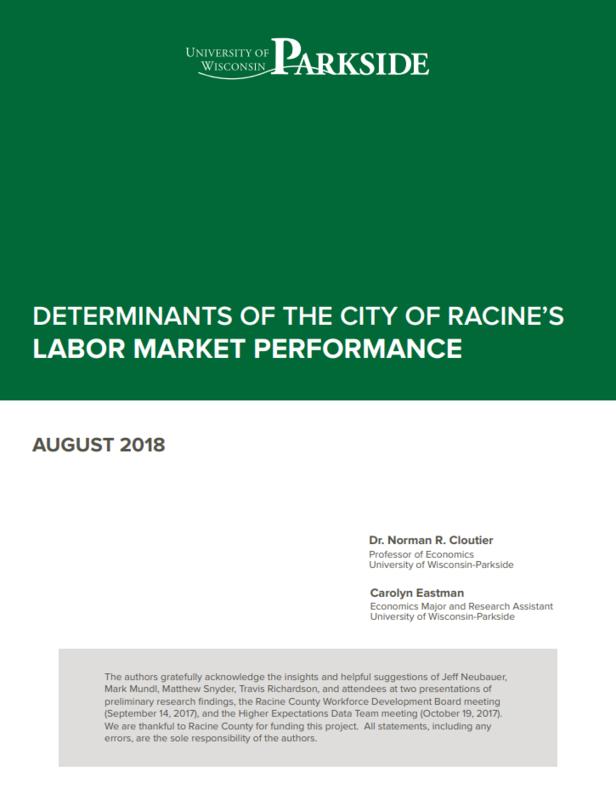 Determinants of the City of Racine's Labor Market Performance
