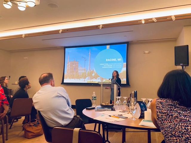 Yesterday, Our Deputy Director, Chelsea, presented about our role in the City of Racine's What Works Cities initiative to expand a HSED program in Racine - ensuring more Racine residents have access to alternative routes to a High School diploma.