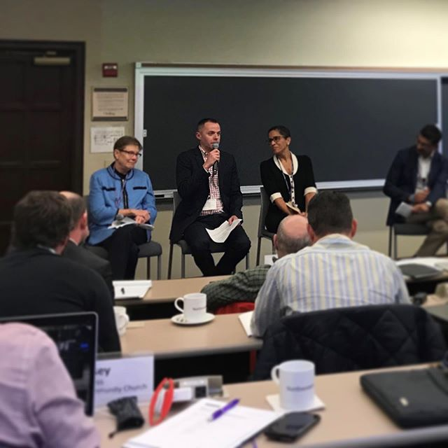 Yesterday, our Data Director, Matt, participated in a panel @kelloggschool for Nonprofit Management discussing how to quantify social outcomes in collaborative networks! #kelloggnonprofit