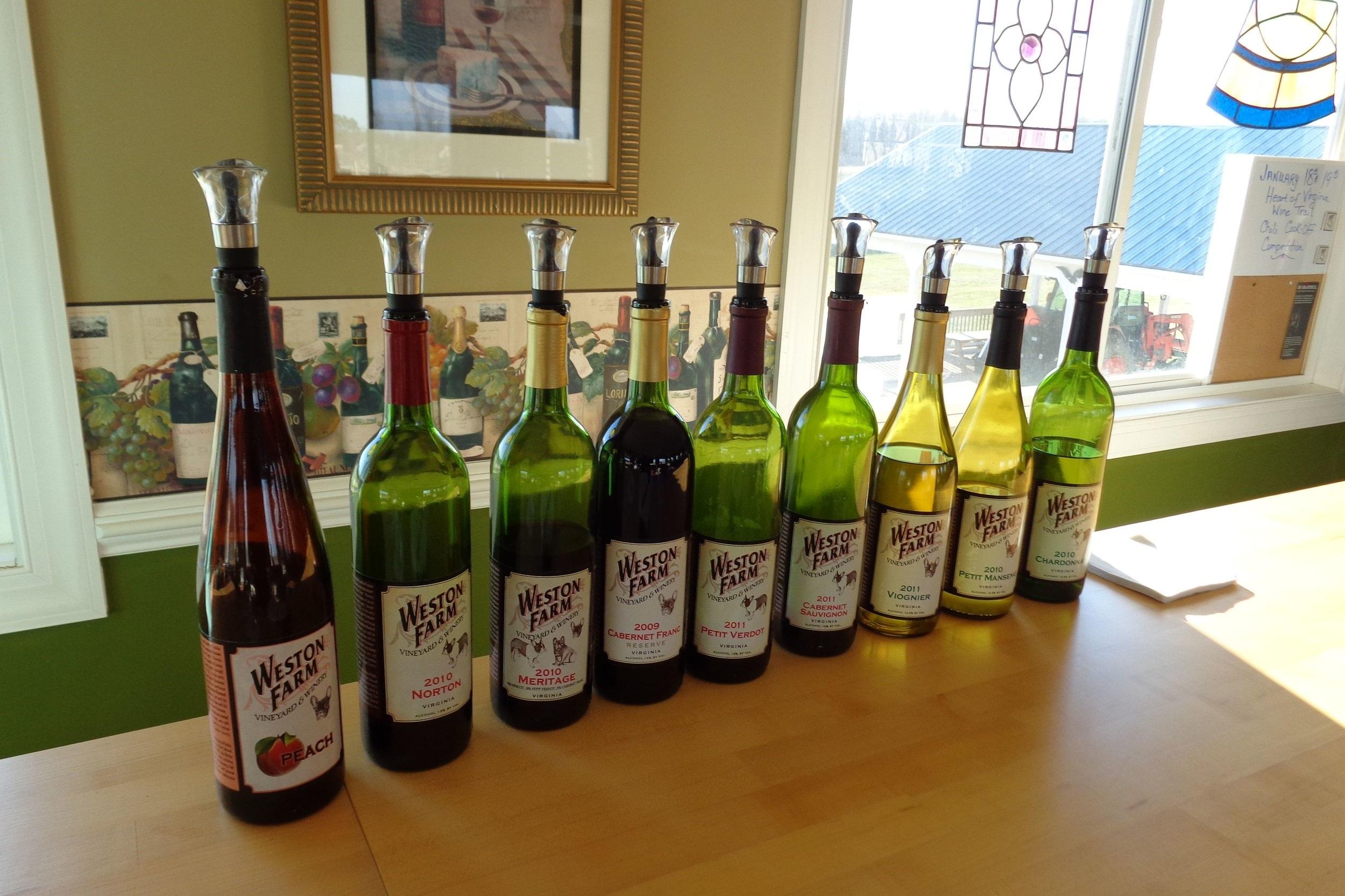 Weston Farm Vineyards and Winery
