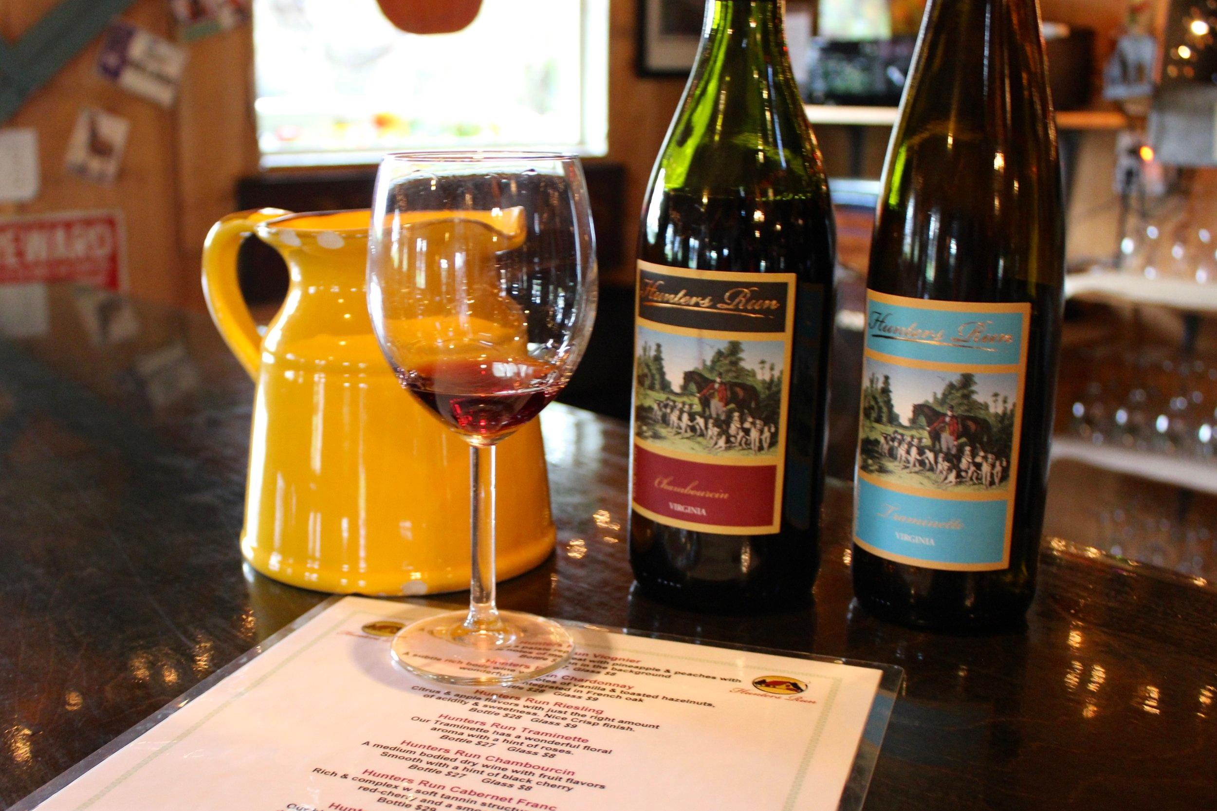 Hunters Run Wine Barn